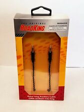 RoadKing Rkhdaux35 12' Extra Long Auxiliary Cable for 3.5mm Input Devices
