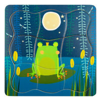 LEGLER Small Foot Children's Frog King Layer Puzzle, Unisex