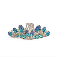Women's Rhinestone Crown Hair Clips Pins Barrette Hairpin Hair Accessories Gifts