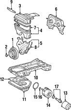Genuine Toyota Engine Oil Cooler Gasket 90301-61003