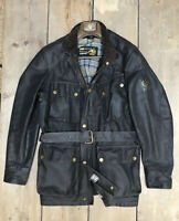 BELSTAFF TRIALMASTER LEGEND 100% Genuine RARE SMALL S 40 Waxed Jacket