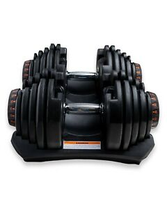 Ultimate Pro Adjustable Dumbbell / 10-90 lbs - FREE SHIPPING - 1 DUMBELL For 259