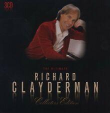 RICHARD CLAYDERMAN - ULTIMATE COLLECTORS EDITION (LIM.METALBOX ED.) 3 CD NEW