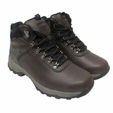 NEW Khombu Men's Leather Boot Brown Hiker Ravine Waterproof NIB SIZE VARIATION