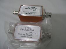 2X INFICON IC 6000 013-001 OSCILLATOR XTAL