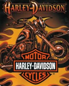 Harley-Davidson Heavyweight Blanket, Sunset