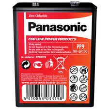 Baterías desechables bloquen de 9 v de zinc-carbono para TV y Home Audio