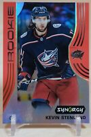 Kevin Stenlund Rookie 2019-20 Upper Deck Synergy Red  RC Unscratched Bounty #52