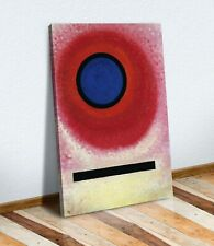 Wassily Kandinsky blue circle ii CANVAS WALL ART PRINT ABSTRACT RED BLUE