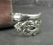 International Sterling Silver Spoon Ring