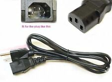 """LG 32LC7D 32"""" inch LCD HDTV Monitor Power Cable Cord Plug AC NEW 5ft"""