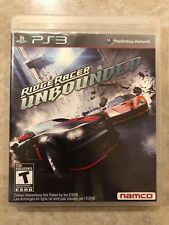 Ridge Racer Unbounded ( Sony Playstation 3 ), PS3 , Complete w/Case & Manual