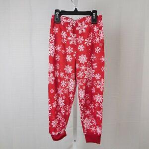 Family PJs Kids Snowflake Print Christmas Pajama Pants - 4-5, XS #7646