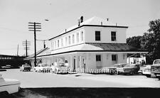 "Photo ca 1963 Dothan Alabama ""Dothan Railroad Station"""