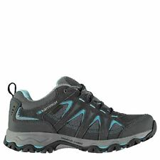 Karrimor Womens Mount Low Walking Shoes Waterproof Lace Up Breathable Mesh Upper