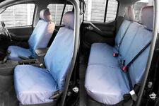 To Fit NEW 2016 On Nissan Navara NP300 Seat Covers Tailored Fit Full Set GREY