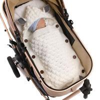 Baby Swaddle Wrap Infant Newborn Stroller Sleeping Bag Sleep Bedding Blanket *1
