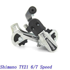 Shimano RD-TY21 6/7 Speeds 18/21 speeds Rear Derailleur Bolt On Mount Long Cage