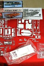 MODEL Car Parts AMT  66 FORD FAIRLANE  Body,Glass ,Chrome ,Interior,CHASSIS 1/25