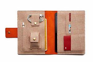 Handmade iPad Pro/Air/mini Folio Case. Apple Pencil Holder. Magic/Smart Keyboard