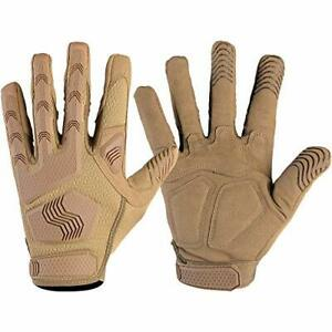 Men's Full Finger Gloves for Motorcycle Motorbike Cycling Climbing