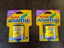 2 Rolls of Kodak Advantix Color Print Film 25 Exposure 200 Exp 2001 In & Outdoor