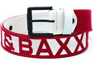 Cipo & Baxx Men's Belt Leisure Fabric Streetwear Logo Design Dope Swag Top