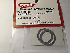 Kyosho INFERNO ST, GT2, MADFORCE, KE25, KE-25, HEAD GASKETS NIP, 74019-03