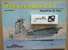 USS Lexington CV-2 - At Sea - Squadron/Signal