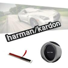 1pc Aluminium Harman Kardon Badge Emblem sticker for Car Speaker BMW VW Benz