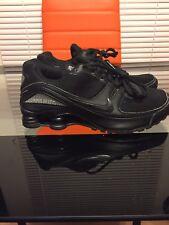 Women's Nike Shox Black Silver Womens Size 7.5/ 6Y. Ladies Running Shoes.