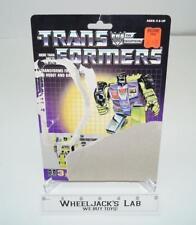 Scrapper Devastator Cardback Vintage 1985 G1 Transformers Action Figure