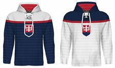 NEW 2018 Slovakia Hockey Championship Hoodie NHL TATAR REWAY HOSSA GABORIK DANO