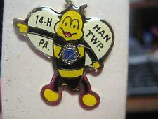 Lions Club Pin PA Hanover Twp. 14-H Bumble Bee New