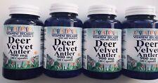 4 X Velvet Deer Antler 900mg 720 Capsules Deer Velvet Antler Muscle Recovery