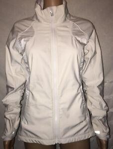 Lululemon White Running Yoga Fitness Full Zip Define Jacket Back Vent sz 6