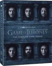 Game Of Thrones-Complete Sixth Season (DVD-2016,5 Discs Box Set)New & Unsealed**