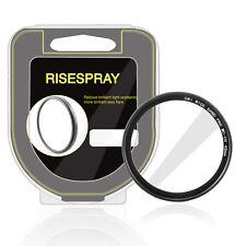 RISE SPRAY 46mm Multi-coating MCUV Lens Fiter Cover for Nikon Canon DSLR SLR+box