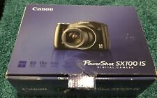 Canon PowerShot SX100is 8MP 10X Zoom Digital Camera w/ Manual, Original Box