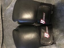 Revgear Pro Leather Boxing Gloves/ Mma / Muay Thai 16 Oz