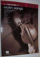 Hal Leonard- Big Book: of Violin Songs (2007 Paperback) Beauty and the Beast