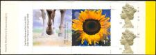 GB 2000 Millennium/Horses/Flowers/Machin 10v 1st Class bklt SG HBA4 (b7810)