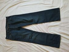 "MENS BHS FADED BLUE SLIM LEG JEANS SIZE 34"" WAIST 29"" LEG"