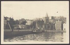 More details for guernsey. church & albert statue, st. peter port, guernsey. 1927 posted rppc
