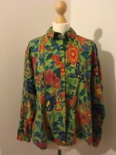 Oilily Ladies Vintage Shirt/blouse Size 40/10   M/L