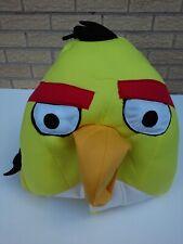 ANGRY BIRDS YELLOW BIRD ADULT MASK FANCY DRESS HALLOWEEN COSTUME PLUSH