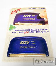 EEZY FABRIC COMB - Restores New Look to Fabrics - Remove Lint, Fluff & Pet Hair