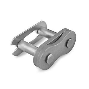 """120H-1 Connecting Link 1.5"""" Carbon Steel cotter type"""