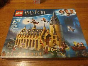 LEGO Harry Potter Hogwarts Great Hall 75954 New Factory Sealed