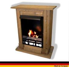Chimenea Caminetti Fireplace Cheminee Etanol y Gel Madrid Premium Royal Roble